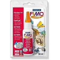 Staedtler FIMO Liquid 8050 Gel Decorativo, Color Transparente (8050-00 BK)