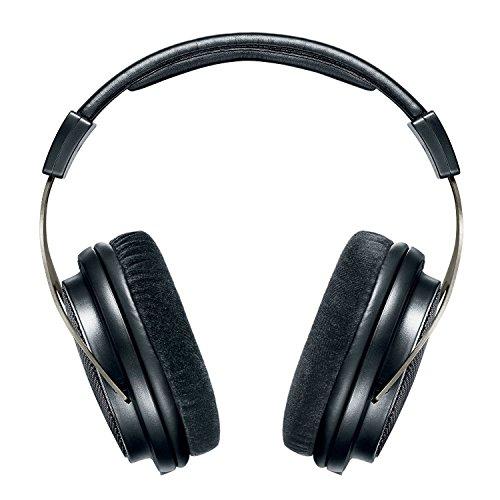 Shure SRH1840, offener Kopfhörer / Over-ear, schwarz/silber, High-End, geräuschunterdrückend, Kabel austauschbar, Velourpolster, natürlicher Klang, erweiterte Höhen, akkurater Bass, gematchte Wandler - 3