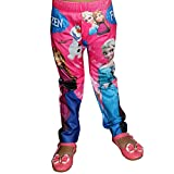TrendiGo Fashion Girl's Disney Skinny Printed Jeggings or Leggings Pant's for Girl's(Pink)