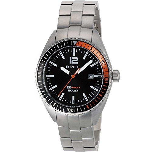 montre heure seulement Breil pour homme Midway TW1629 style décontracté cod. TW1629
