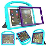 Surom Kids Case with Built-in Screen Protector for iPad 4, iPad 3