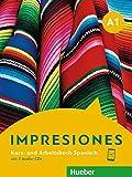 Impresiones A1: Kursbuch + Arbeitsbuch + 2 Audio-CDs