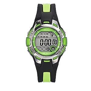 Tekday Unisex Kinder Digital Uhr mit Plastik Armband 653943