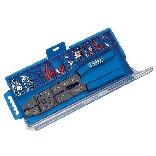Draper 13658 5-Wege Crimpzange und Kabelschuh-Set