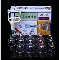 BG-YUFI YF Schröpfen Glas, 18 Dosen Setzen Schröpfen Magnetfeldtherapie Chinesische Medizin negativen Druck Gastank - preisvergleich bei billige-tabletten.eu