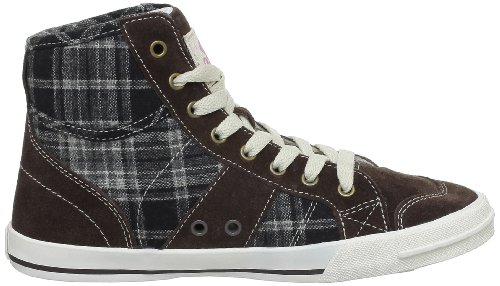 Rip Curl Betsy High, Baskets mode femme Marron (Coffee/Check)