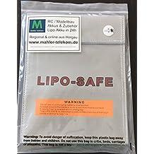 Lipo Tasche Dokumententasche feuerfest Akku Sicherheitstasche Feuer Sicherheit Safe Brandschutztasche Safebag Lipobag LipotaschemolinoRC