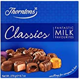Thorntons Classics Milk Chocolate Box 276 grams