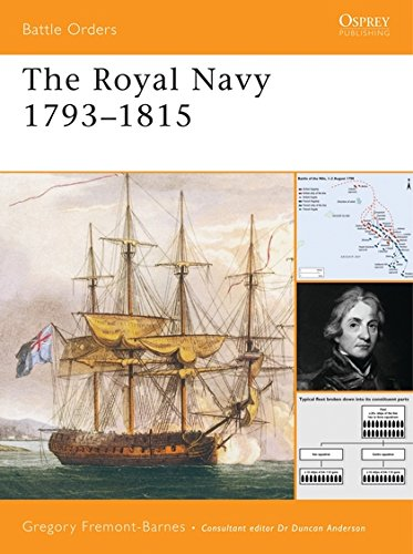 The Royal Navy 1793-1815 di Gregory Fremont-Barnes