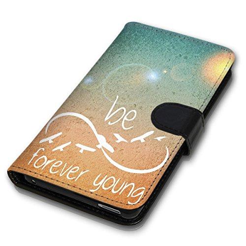 Wallet Book Style Flip Handy Tasche Case Schutz Hülle Schale Motiv Etui für Apple iPhone 6 / 6S - Variante UMV3 Design12 Design 4