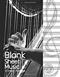 Blank Sheet Music: Music Manuscript Paper, Staff Paper, Music Notebook 12 Staves, 8.5 X 11, A4, 100 Pages, Shade of Darker Edition 4: Volume 4 (Blank Sheet Music for Beginner)