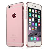 NEW'C Coque pour iPhone 6 Plus, 6s Plus, [ Ultra Transparente Silicone en Gel TPU...
