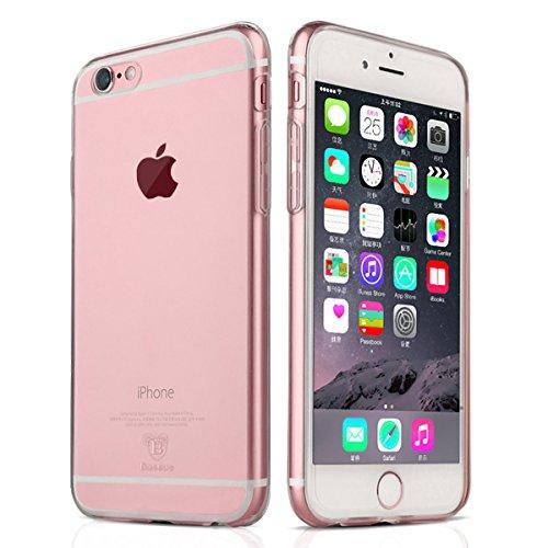 NEW'C Hülle für iPhone 6 Plus, 6s Plus [Ultra transparent Silikon Gel TPU Soft] Cover Case Schutzhülle Kratzfeste mit Schock Absorption & Anti Scratch kompatibel iPhone 6 Plus, 6s Plus