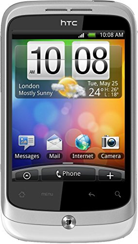 HTC Wildfire S Smartphone Telekom Branding (8,1 cm (3,2 Zoll) Touchscreen, ARM 11, 60MHz, 512MB RAM, 5 Megapixel, Android 2.3) (Wildfire S Htc)