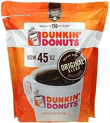 Dunkin' Donuts Original Blend Medium Roast Ground Coffee, 1.27 kg by Dunkin' Donuts