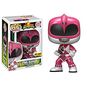 Funko 12577 Power Rangers Ranger Rosa Metlico