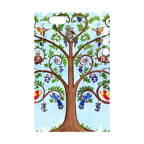 LP-LG Phone Case Of Tree of Life For iPhone 5,5S [Pattern-6] Pattern-4