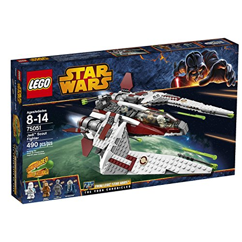 LEGO Star Wars 75051 Jedi Scout Fighter Building Toy (Jek 14 Lego)