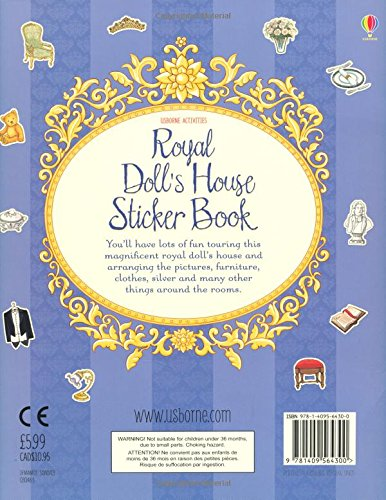 Royal Doll's House Sticker Book (Doll's House Sticker Books)