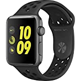 Apple Watch Nike+ 38mm Smartwatch (Space Grey Aluminum Case, Anthracite/Black Sport Band)