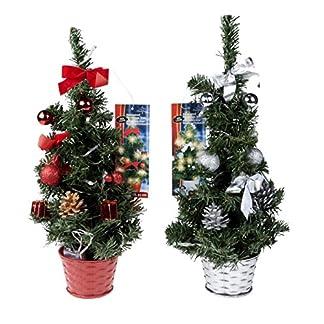 1Stk-Knstlicher-Weihnachtsbaum-Grn-Tannenbaum-inklusive-Lichterkette-mit-20-LED-H45cm50-Spitzen20cmWeihnachtsdekoration-knstliche-Tanne-fr-Bro-und-Haus