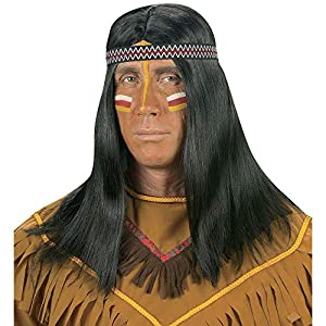 WIDMANN Générique?PE116?Peluca Comanche Talla única