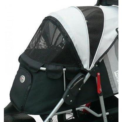 Pet Stroller,IPS-070, Black/Silver, Dog Carrier, Trolley, Innopet, Comfort EFA Buggy. Foldable pet buggy, pushchair… 3