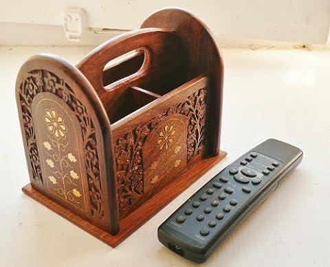 Fairtrade Sheesham wood remote control