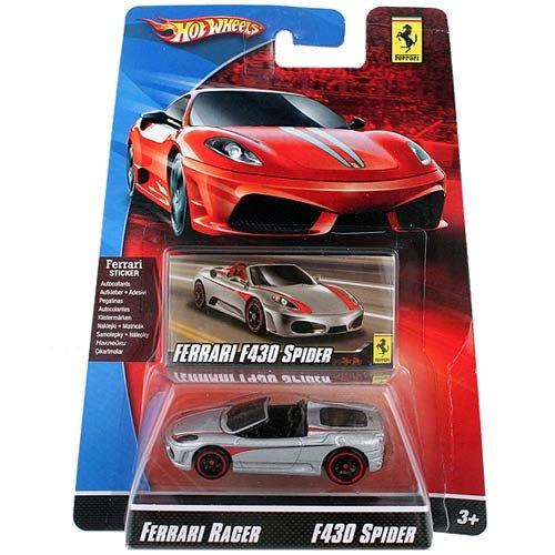 Hot Wheels Die-Cast Ferrari Racer F430 Spider 1:64 -