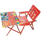 SR Collection Kids Chair and Table for Study and Dinning Table Best Chair Table(Colour May Vary)