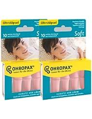 2x ohropax Soft Tapones de espuma (2x 10stk.)