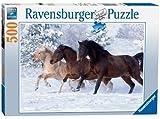 Ravensburger Gallop im Schnee Puzzle mit 500 Teile