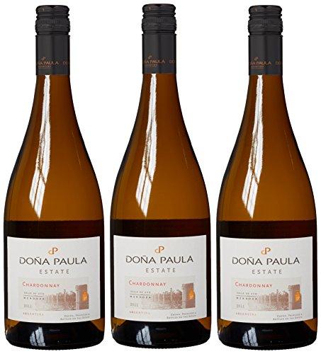 £30.24 New Dona Paula Estate Chardonnay Mendoza 2011 Wine 75 cl (Case of 3)