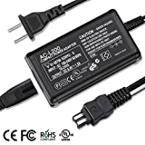 AC-L200 Adapter Charger For Sony Handycam Camcorder DCR-SX40,DCR-SX41,DCR-SX44,DCR-SX45,DCR-SX60,DCR-SX63,DCR-SX65,DCR-SX83,DCR-SX85,HDR-CX190,HDR-CX220,HDR-CX230,HDR-CX330,HDR-CX190,HDR-CX675 ...