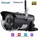 #10: Sricam SP007 Wireless Waterproof Outdoor WiFi HD 720P Security CCTV Ip Camera [Black]