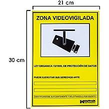 WOLFPACK - Cartel Zona Videovigilada 30x21