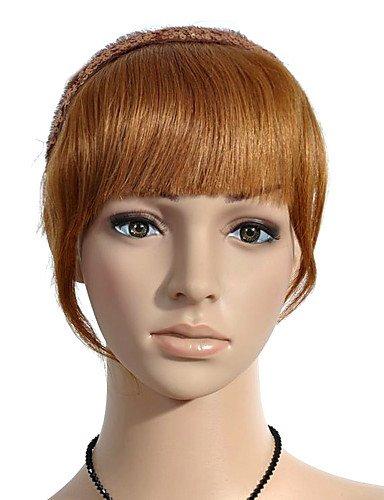 100% cheveux humains Version Plus épais Bang