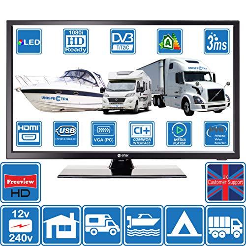 Estar TV HD portátil de 24 Pulgadas