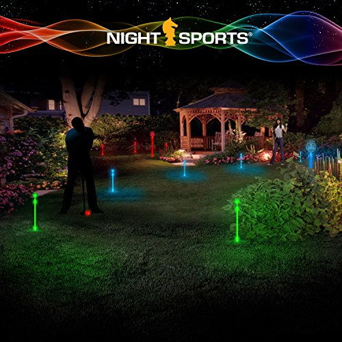 p Golf Ball mit LED Putting Set ()
