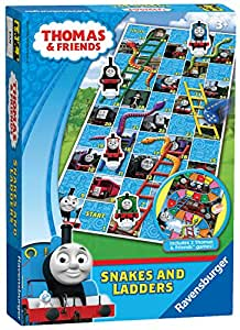 Thomas & Friends - Snakes And Ladders jeu carte double face