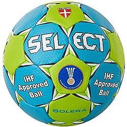 Select Solera - Balón de balonmano, color azul y verde azul azul, verde Talla:2