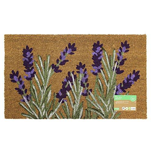 JVL–diseño de jardín con diseño de Puerta de Entrada Mat-Lavender Beige, 45x...