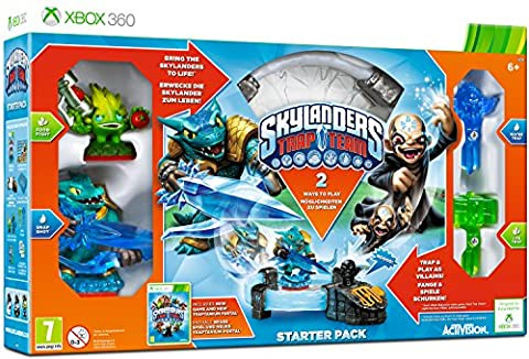 Activision Starter PACK + Skylanders TRAP TEAM Jouet Hybride Console compatible Microsoft Xbox 360
