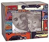 Goldbuch 001219 Fotobox Mustang, aus Holz mit drei Schubladen