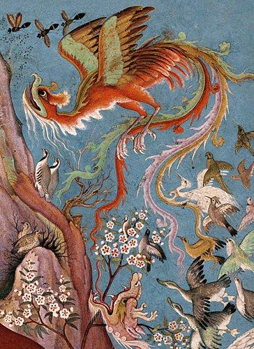 Le Cantique des oiseaux illustré par la peinture en Islam d'orient