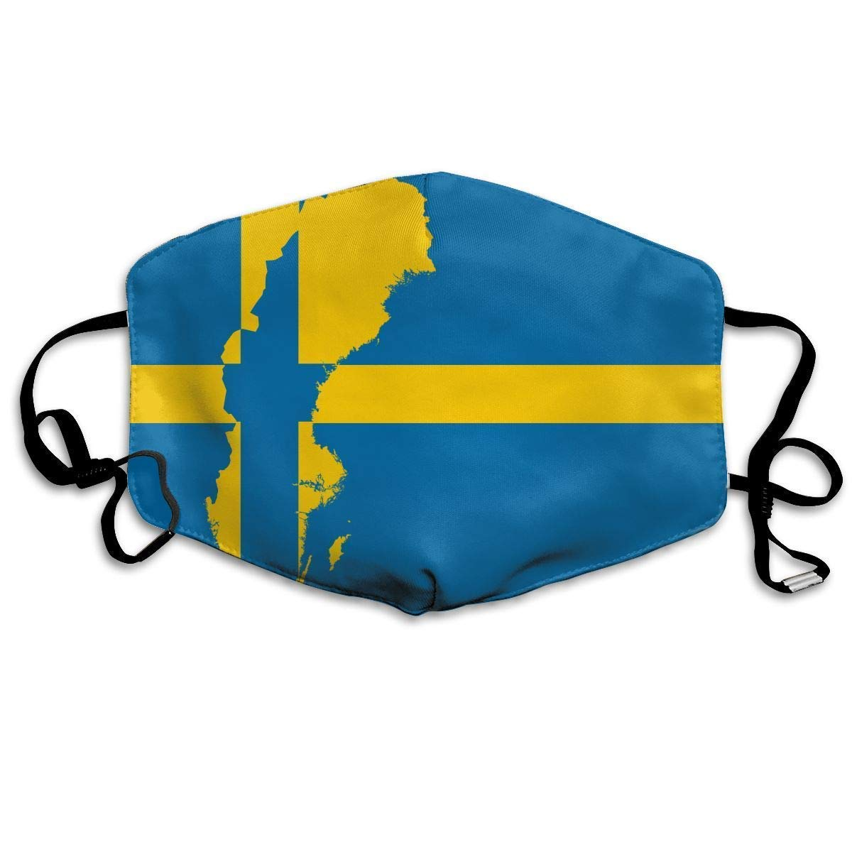 Daawqee Mascarillas, Sweden Swedish Flag Map Anti-dust Mouth Mask Face Masks Mouth Cover for Man and Woman