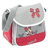 Fabrizio Minnie Mouse Kindergartentasche 21 cm hellgrau/feuerrot