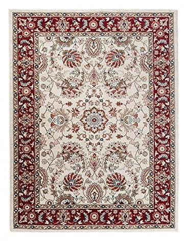 Tapis Conforama Rouge - Grand Tapis d'Orient - ROUGE BLANC COLORÉ