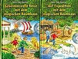 2 Bücher: Auf Expedition mit dem magischen Baumhaus; Geheimnisvolle Reise mit dem magischen Baumhaus. Mit Hörbuch.