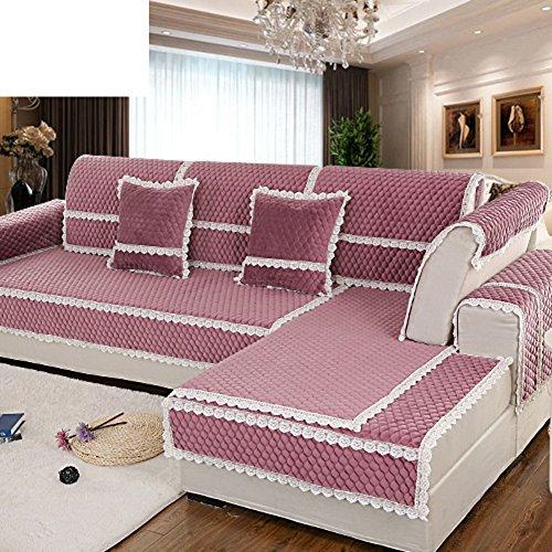 Autunno/inverno tessuto antiscivolo divano asciugamano/ semplice e moderno divano set/